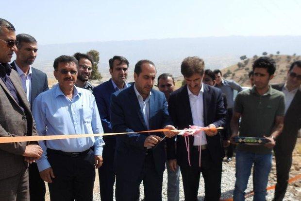 7 پروژه در شهرستان بدره افتتاح و کلنگ زنی شد
