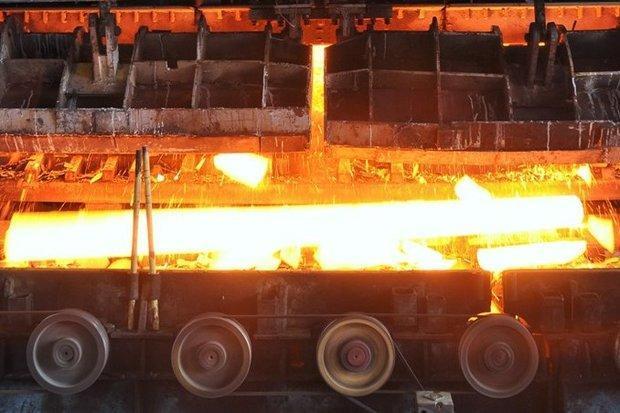 رشد 19درصدی فراوری فولاد ایران، افزایش 7.4 درصدی فراوری فولاد جهانی