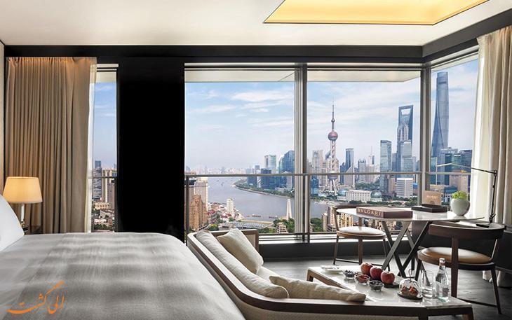 آشنایی با هتل های 5 ستاره در شانگهای چین