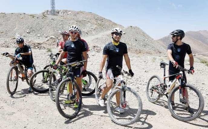 راه اندازی طولانی ترین راستا دوچرخه سواری در توچال