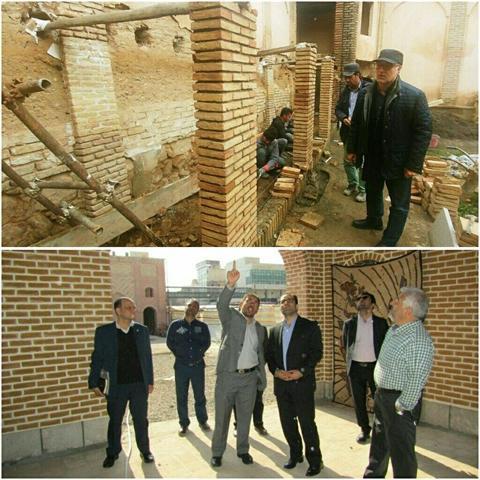 پایش مستمر بناهای تاریخی آذربایجان شرقی به منظور پیشگیری از آسیب های مخاطرات طبیعی