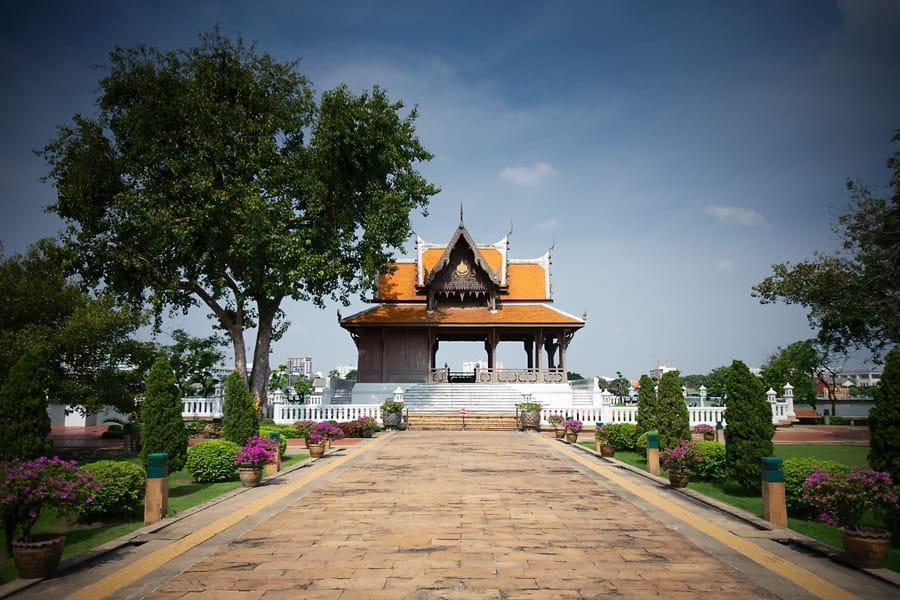 پارک و نمایشگاه سانتی چای پراکان در بانکوک تایلند