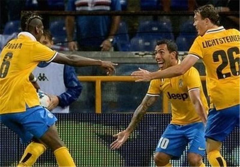 یوونتوس با پیروزی استارت زد، میلان با شکست، آغاز به یادماندنی توز در شب درخشش تونی