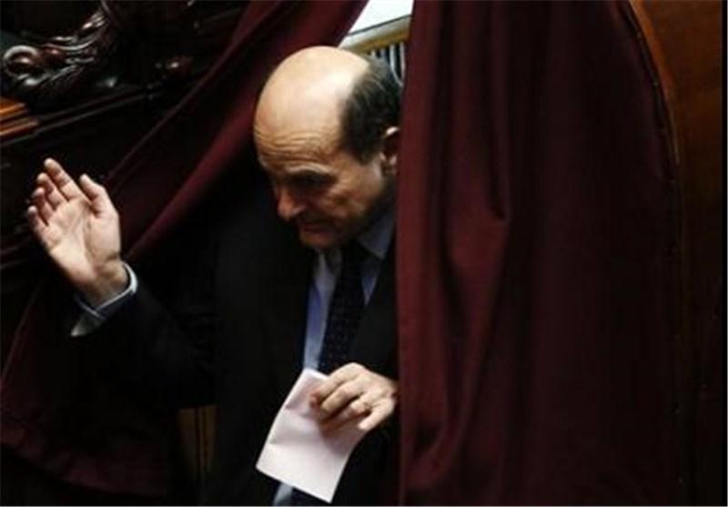 رهبر حزب چپ میانه رو ایتالیا از سمت خود استعفا کرد
