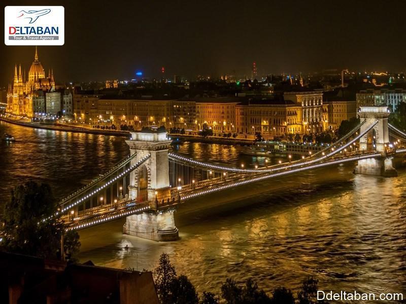 پل چین در بوداپست، پلی باشکوه بر روی رودخانه دانوب