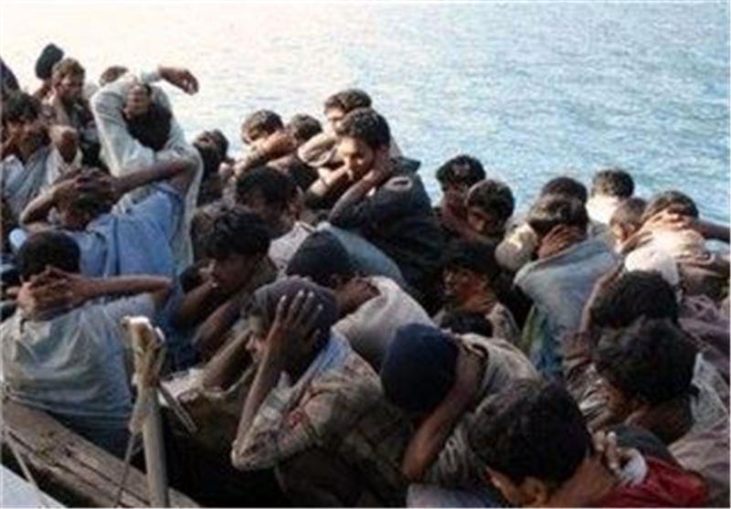 تایلند قایق پناهندگان مسلمان میانماری را متوقف کرد