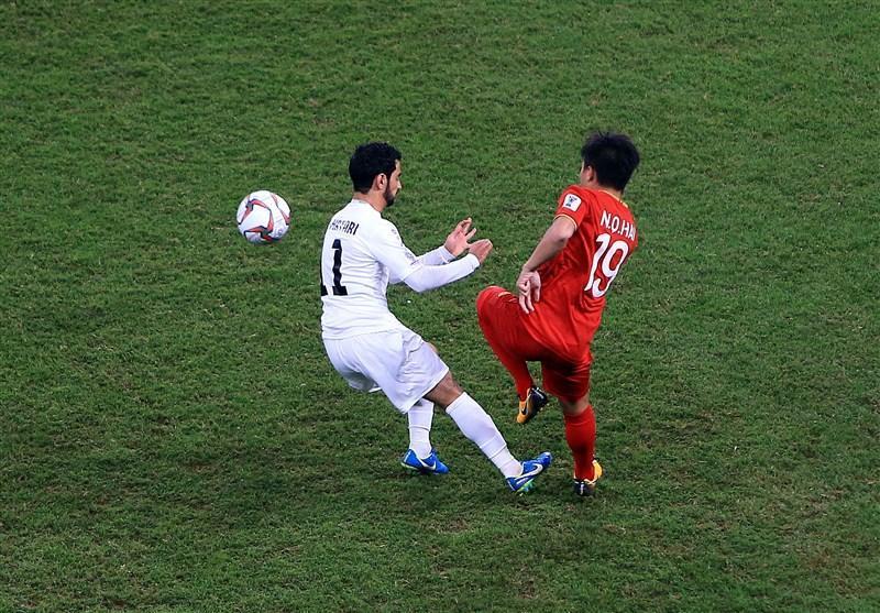 جام ملت های آسیا، فزونی یک نیمه ای ویتنام برابر یمن