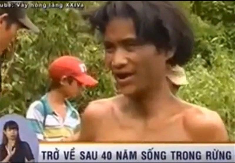 پدر و پسر ویتنامی برای فرار از جنگ 40 سال در جنگل زندگی کردند
