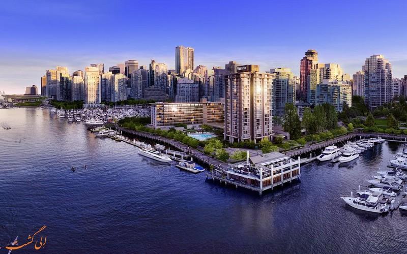 معرفی هتل وستین بای شور ونکوور ، 4 ستاره