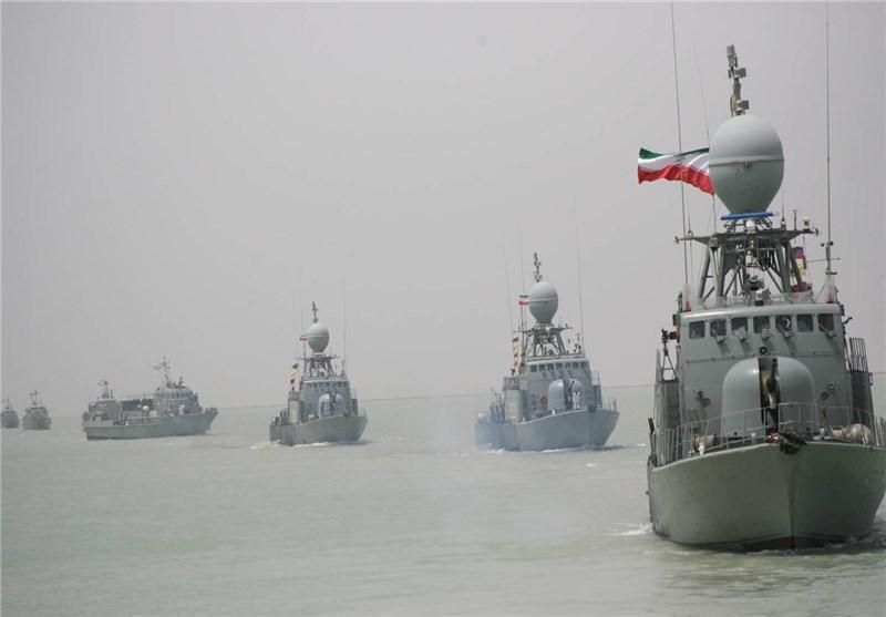 ناوگروه نیروی دریایی عمان در بندرعباس پهلو گرفت