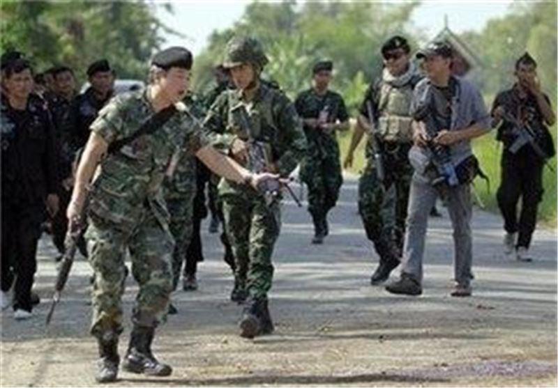 کشته شدن 3 نظامی تایلندی در پی انفجار بمب کنار جاده ای