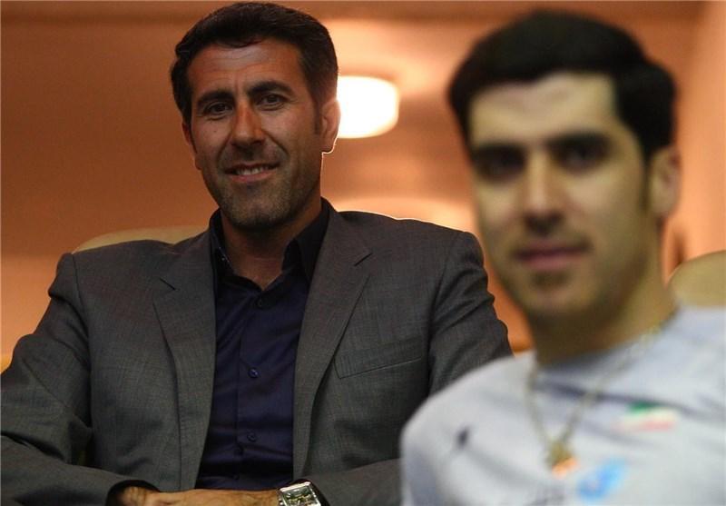 بهنام محمودی در انتخابات فدراسیون والیبال ثبت نام کرد