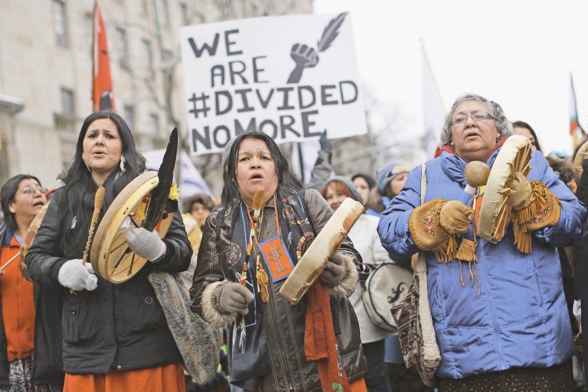 نوک کوه یخی اعتراض در کانادا
