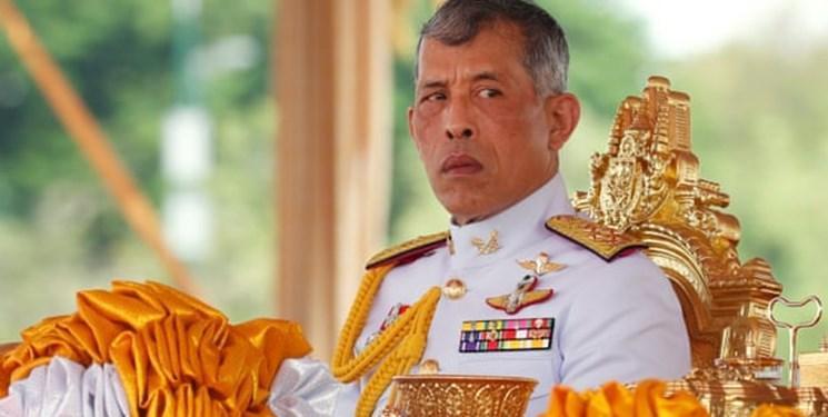 اخراج 4 نیروی گارد سلطنتی تایلند از سوی پادشاه