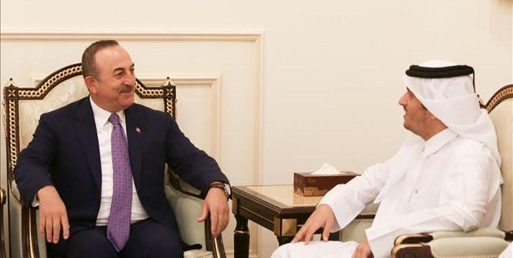 ترکیه از حمایت قطر از عملیات نظامی در شمال سوریه تقدیر کرد