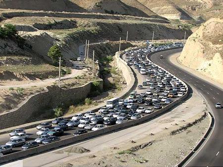 تردد های بین جاده ای شب گذشته 1.8 درصد افزایش یافت، محدود یت های ترافیکی ایام اربعین حسینی