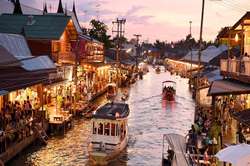 زندگی روستایی، فراتر از بازارهای شناور بانکوک