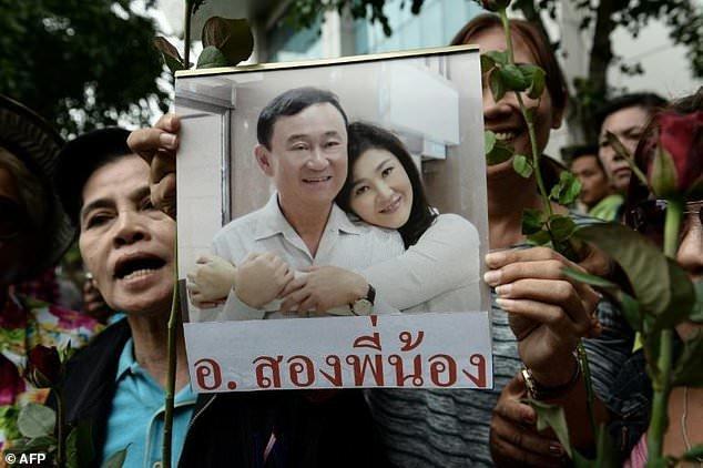 خونتای تایلند: کاروان یینگلاک شیناواترا در مرز کامبوج رصد شده است