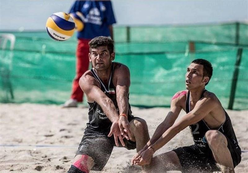 تیم ملی الف ایران در جمع چهار تیم برتر تور جهانی والیبال ساحلی عمان