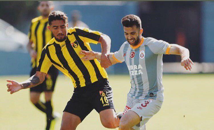 صیادمنش در ترکیب استانبول اسپور مقابل هاتای اسپور