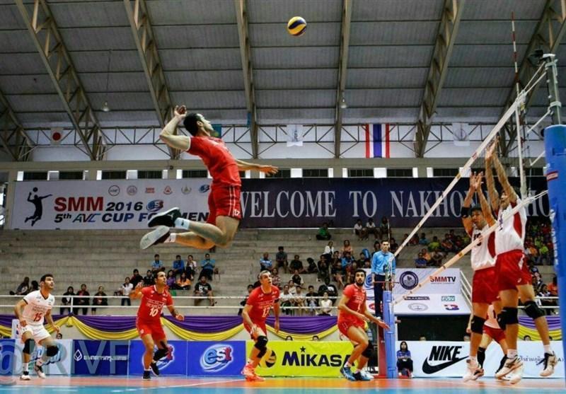 صعود تایلند به مرحله نهایی مسابقات والیبال انتخابی دنیا
