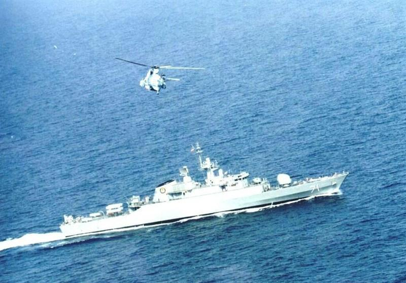 ناو موشک انداز سپر و ناوشکن سهند به نیروی دریایی ارتش الحاق می شود