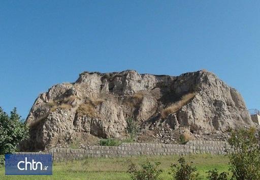 لایه نگاری تپه باستانی گیلان غرب