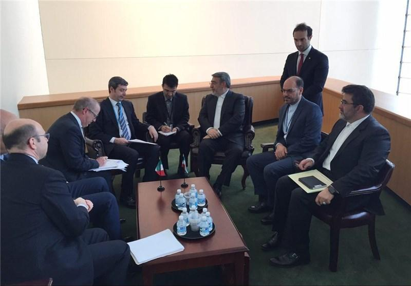 تاکید وزرای کشور ایران و دادگستری ایتالیا بر همکاری در زمینه مبارزه با موادمخدر