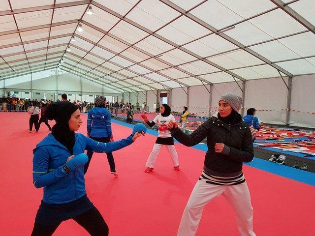 قرعه کشی رقابتهای جهانی کاراته اتریش انجام شد