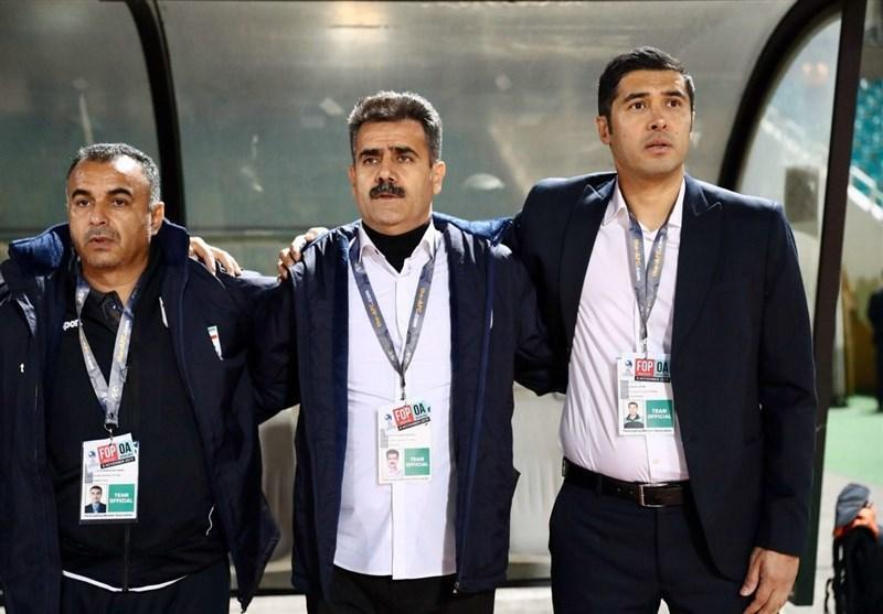 فاطمی: بازیکنان تیم جوانان مقابل امارات فوق العاده بازی کردند، صعود ما کار آسانی نبود