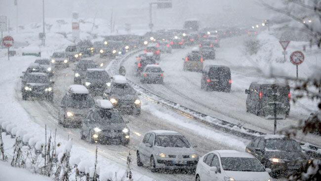 هشدار هواشناسی ، کاهش دما و بارش برف و باران