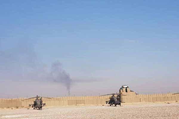 حمله به پایگاه غیرقانونی نظامیان آمریکایی در شمال شرق دیرالزور
