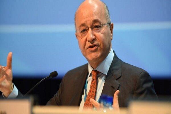 گفتگوی تلفنی پادشاه اردن با رئیس جمهور عراق