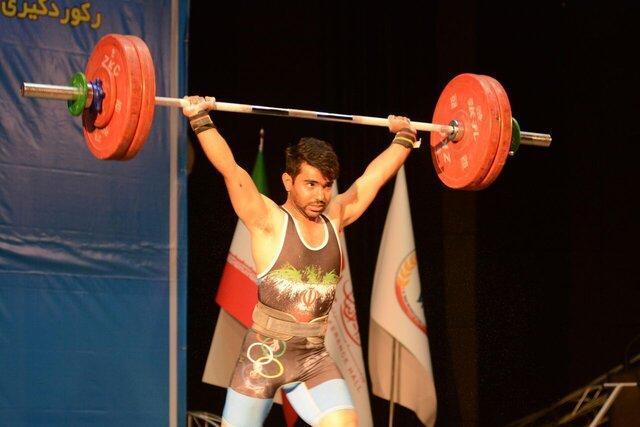 طلسم 42 ساله وزنه برداری ایران شکسته شد، مدال نقره دوضرب برای قشقایی