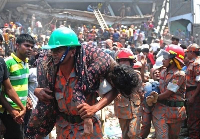 6 کشته درپی ریزش ساختمانی در جنوب شرقی هند