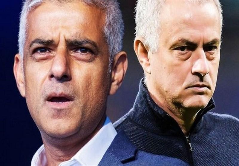 انتقاد شهردار لندن از مورینیو: به شیوع کرونا یاری کردی!