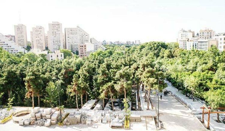 جهنم درختان در باغ بهشت تهران
