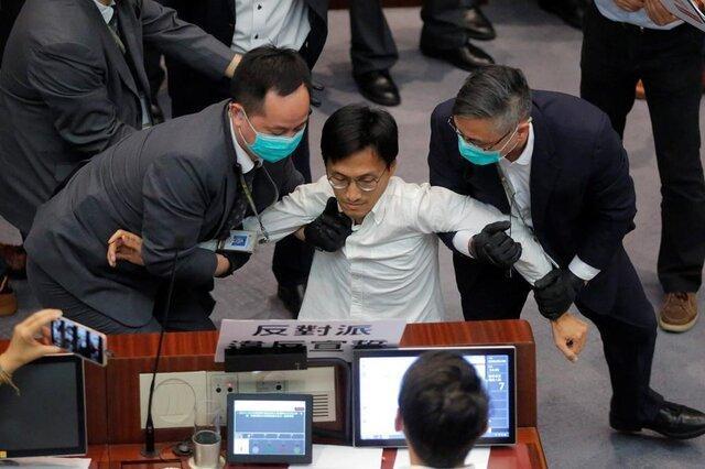 درگیری در مجلس هنگ کنگ