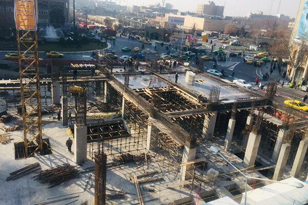 بازدید معاونان حناچی از عملیات ساختمان بلدیه ، پیشرفت 43 درصدی قطب فرهنگی و گردشگری پایتخت