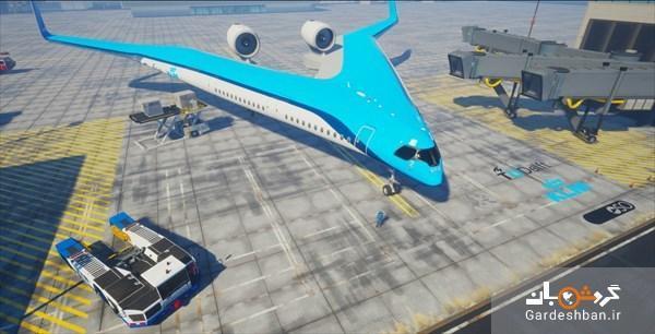 عکس، هواپیمای فوق پیشرفته جت لاینر به پرواز درآمد