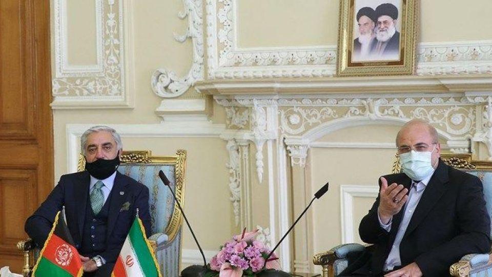 قالیباف: پای یاری به افغانستان ایستاده ایم، آمریکا به فکر امنیت کشور های اسلامی نیست