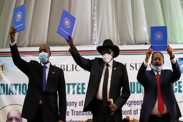 امضای توافق صلح میان سودان و گروه های مسلح شورشی