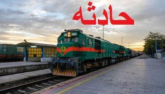 برخورد مرگبار مرد جوان با قطار مسافری بری در زنجان