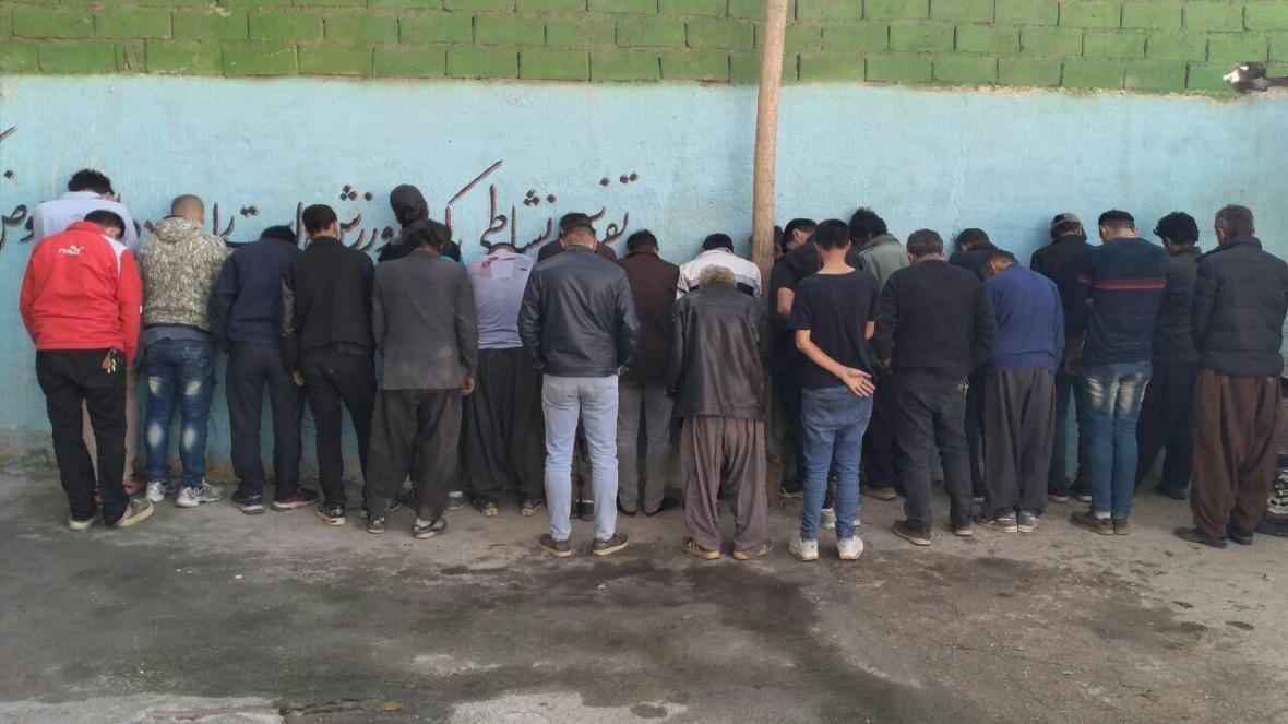 خبرنگاران 300معتاد متجاهر و کارتن خواب از سطح شهر آبادان جمع&zwnjآوری شد