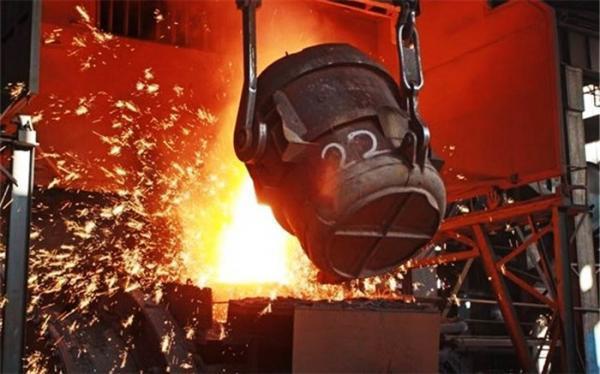 تولید 2.1 میلیون تن آهن اسفنجی در دی ماه