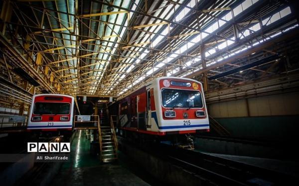 31 رام قطار مترو تهران نیازمند تعمیرات اساسی است