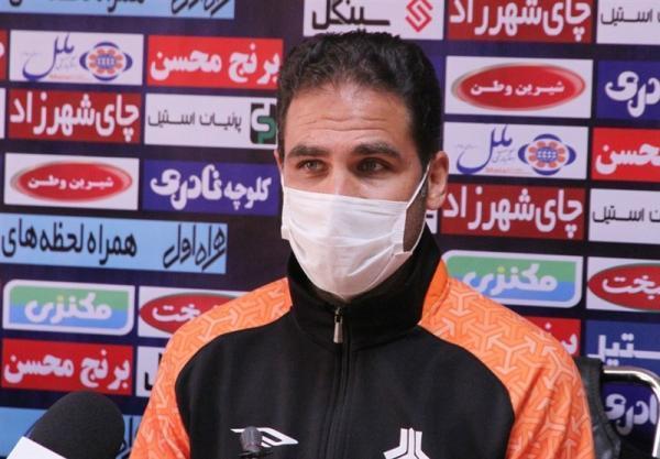 صادقی: بازی فردای ما و نفت مسجدسلیمان برنده دارد، قربانی خواست بماند و ما هم استقبال کردیم