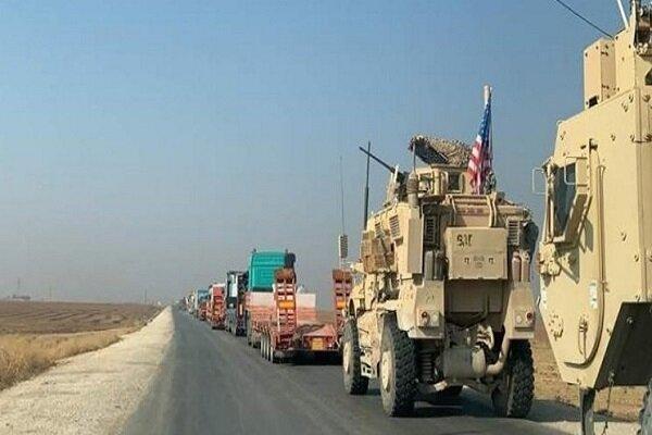 آمریکا یک کاروان لجستیک از عراق وارد سوریه کرد