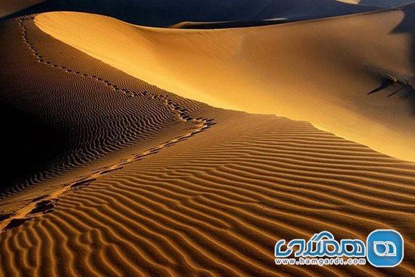 کویر مصر استان اصفهان جلوه گاه ستارگان و رمل ها است