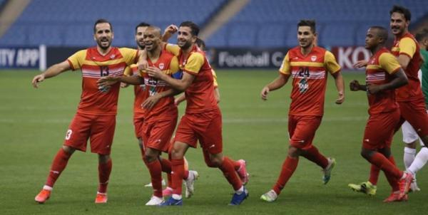 لیگ قهرمانان آسیا، نکونام مقابل الوحدات اولین برد را جشن گرفت